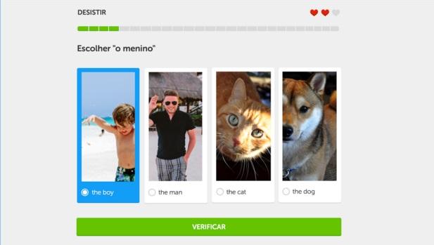Duolingo para aprender inglês jogando