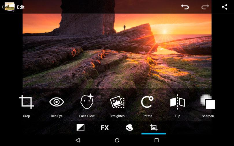 Editor de imagem Android